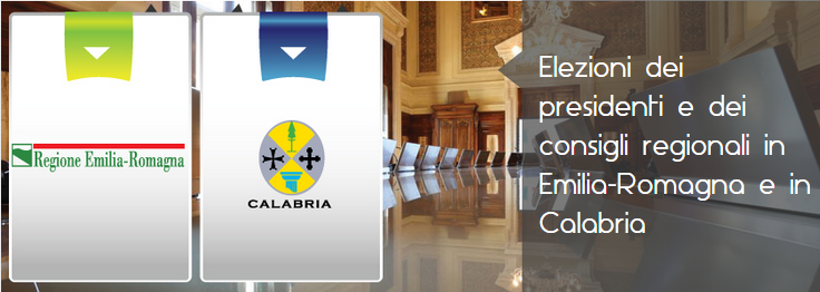 Elezioni Regionali EMILIA ROMAGNA e CALABRIA 2014